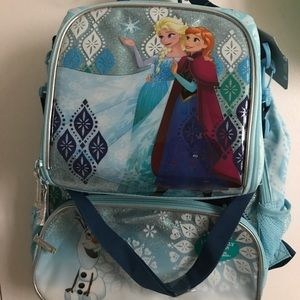Other - Frozen light up backpack with lunch bag